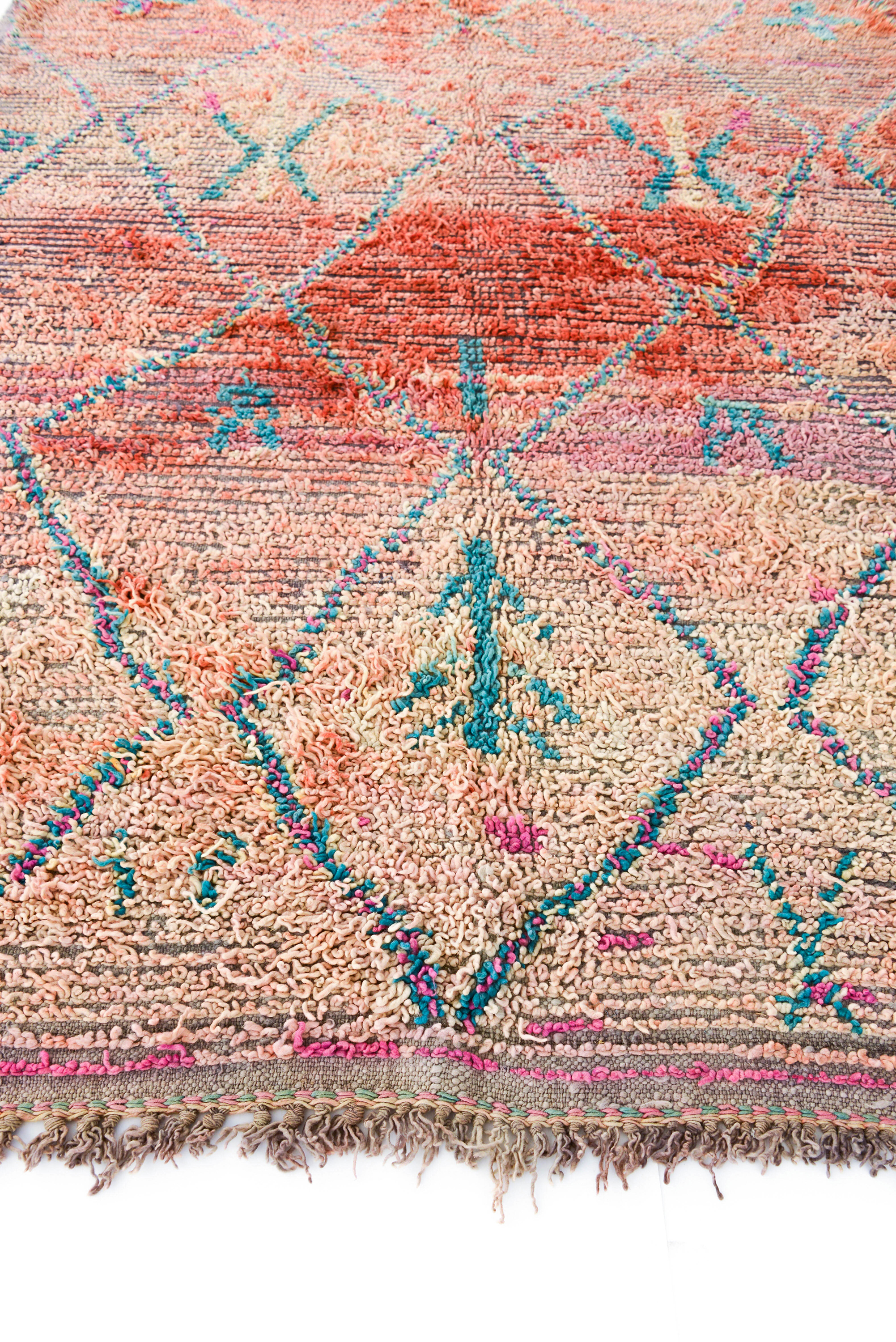 Alice Wouters Vintage Moroccan Beni M Guild Rug